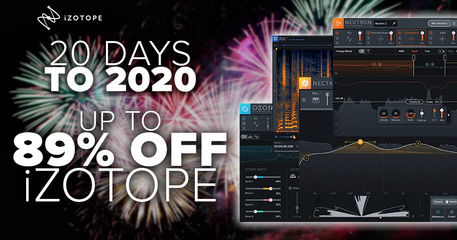 UP T0 89% OFF IZOTOPE EFFECTS PLUGINS