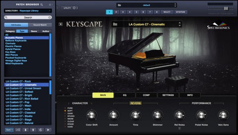 Spectrasonics Keyscape Interface