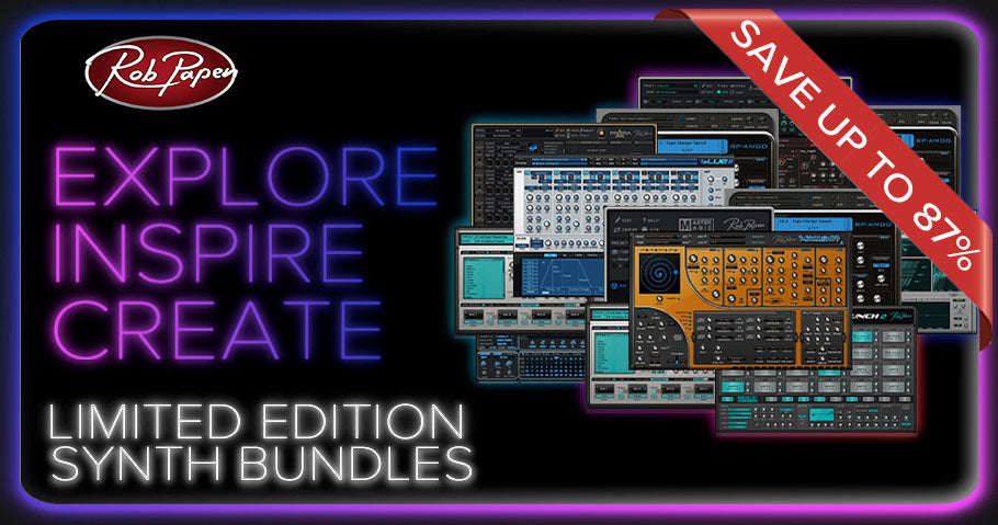 New Rob Papen limited edition synth bundles