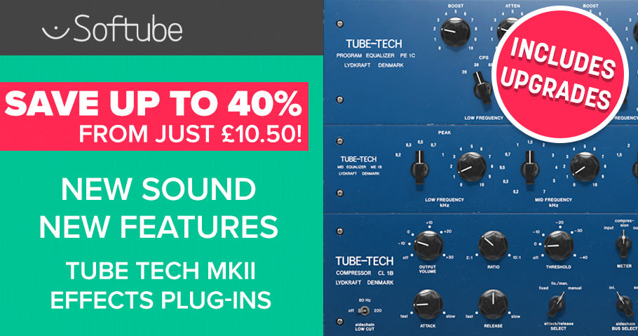 NEW SOFTUBE TUBE TECH EFFECTS PLUG-INS