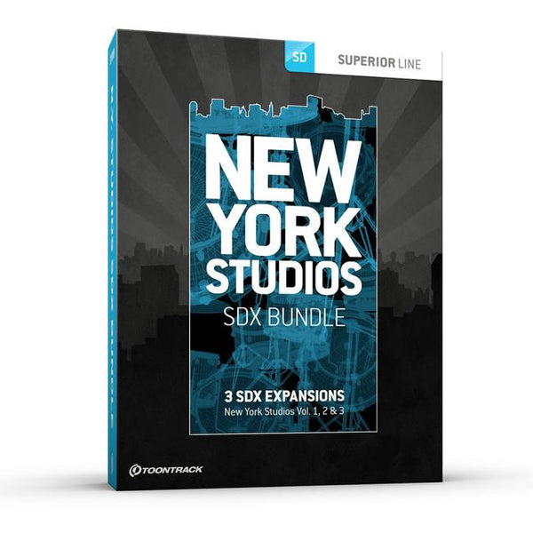 Toontrack New York Studios Bundle