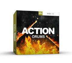 Toontrack Action Drums MIDI Pack