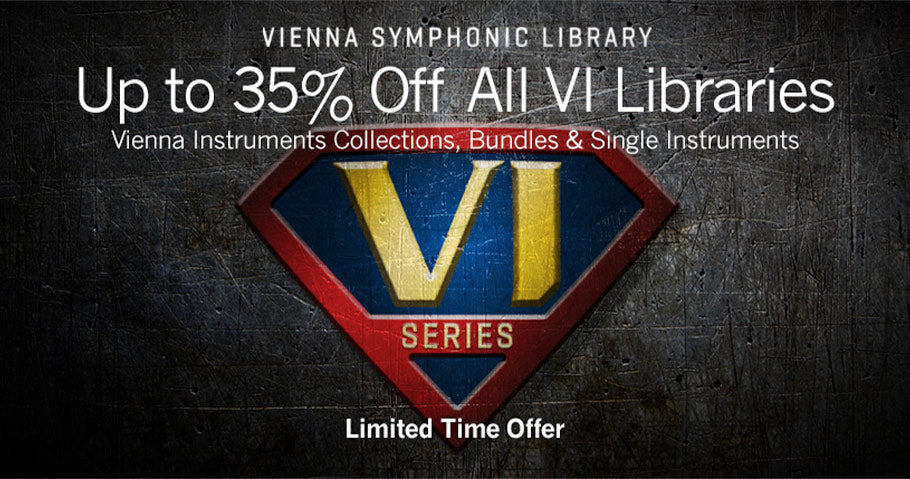 Up to 35% off VSL virtual instruments