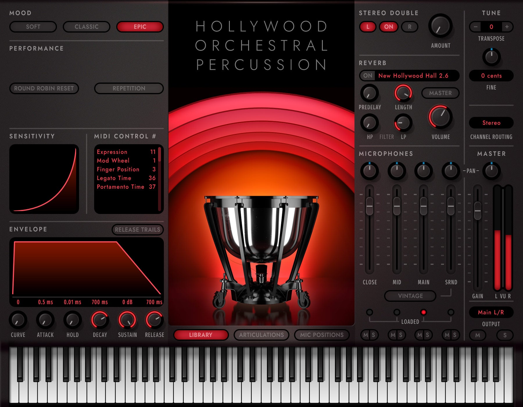 EastWest Hollywood Orchestra Opus Edition Percussion