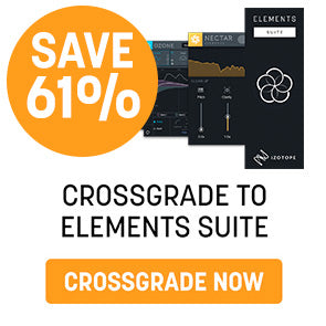 iZotope release Nectar Elements and new Elements Suite