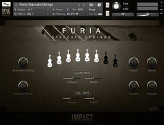Furia Staccato Strings