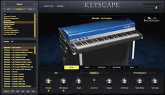 Spectrasonics Keyscape GUI