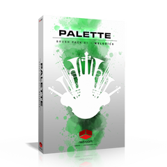 Palette Brush Pack 01 Melodics Kontakt Library