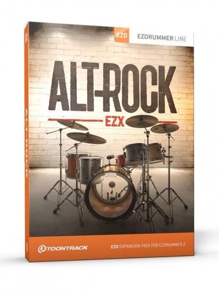 Buy Toontrack EZX Alt-Rock (Boxed)
