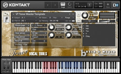 Bela D Media Vocal Tools Tenor