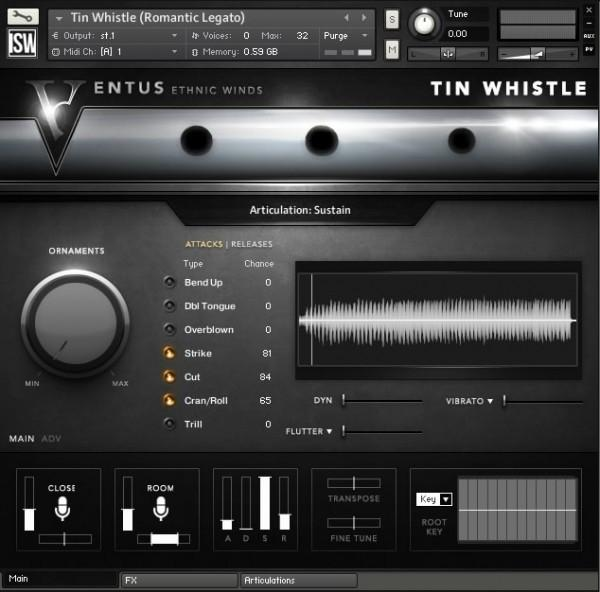 Install Impact Soundworks Ventus Ethnic Winds - Tin Whistle