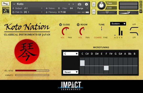 Install Impact Soundworks KOTO Nation