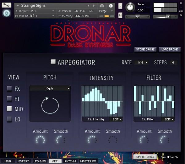 Gothic Instruments DRONAR Dark Synthesis