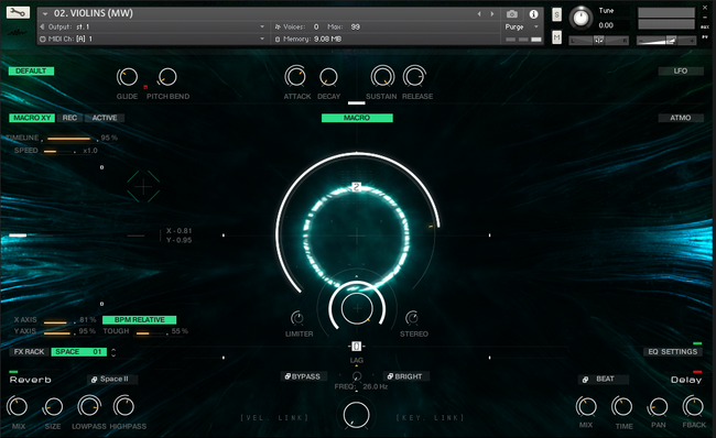 Wavelet Audio Senfine