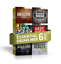 Download Toontrack Essential Drums MIDI 6 Pack