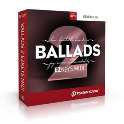 Download Toontrack EZkeys Ballads 2 MIDI Pack