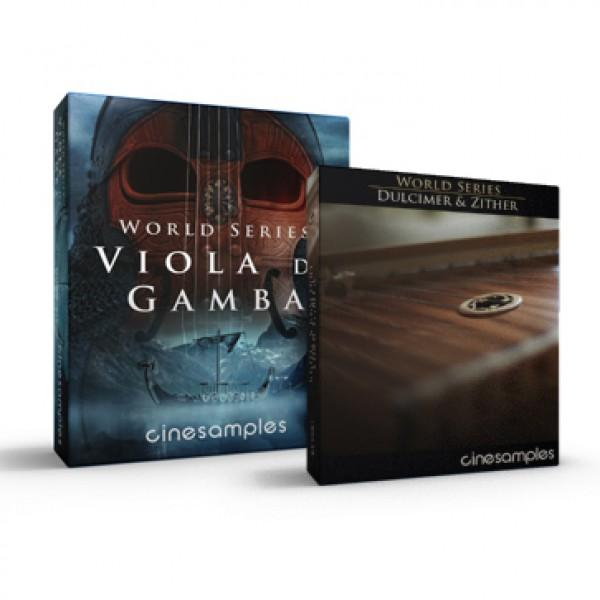 Download Cinesamples Viola da Gamba and Dulcimer Zither Bundle