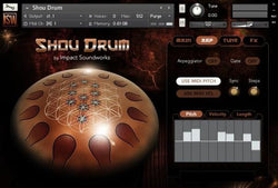 Install Impact Soundworks Shou Drum