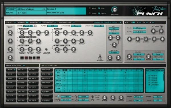 Rob Papen Punch - 33% OFF AND FREE UPGRADE TO PUNCH 2!