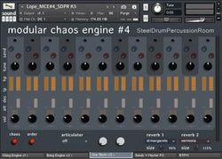Download Sound Dust Modular Chaos Engine 4 Steel Drum Percussion Room
