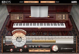 Interface Toontrack EZkeys Upright Piano