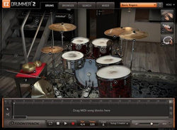 Interface Toontrack EZX - Post-Rock