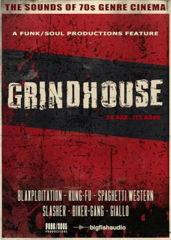 Big Fish Audio Grindhouse: Sound of 70s Genre Cinema