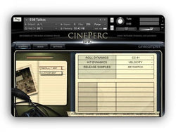 Download CineSamples CinePerc COMPLETE Bundle