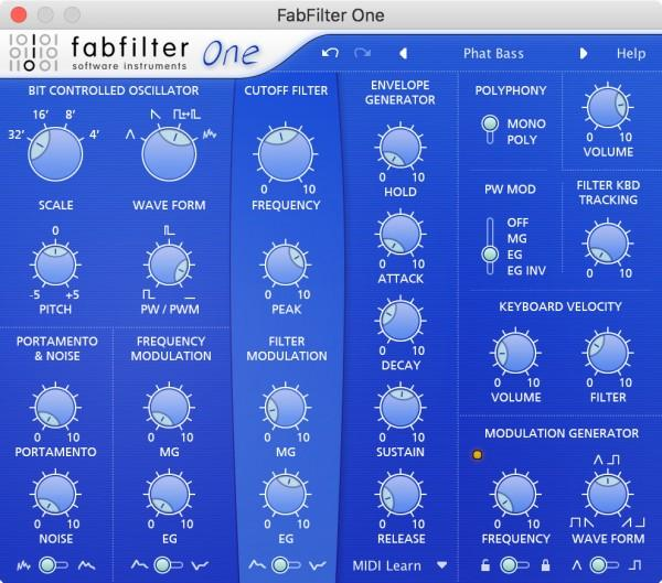 Fabfilter – Time+Space