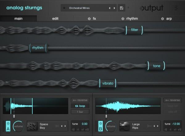 Download Output - Analog Strings