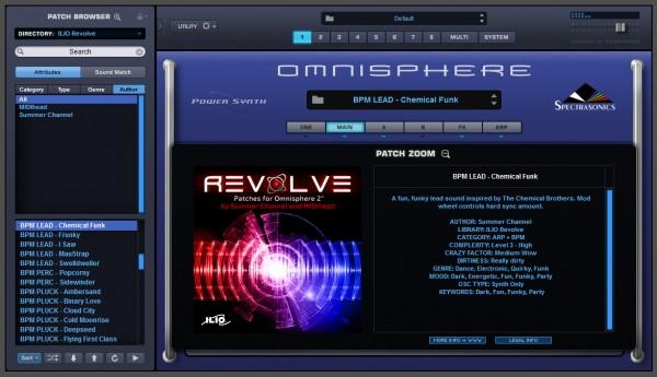 Ilio Revolve for Omnisphere 2