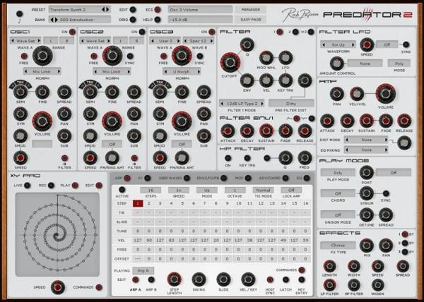 Rob Papen Predator (free version) download for PC