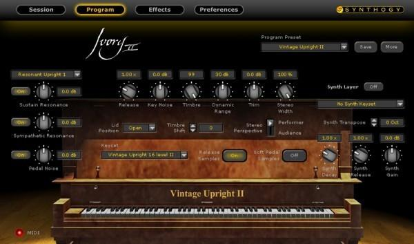 Download Synthogy Ivory II Upright Pianos