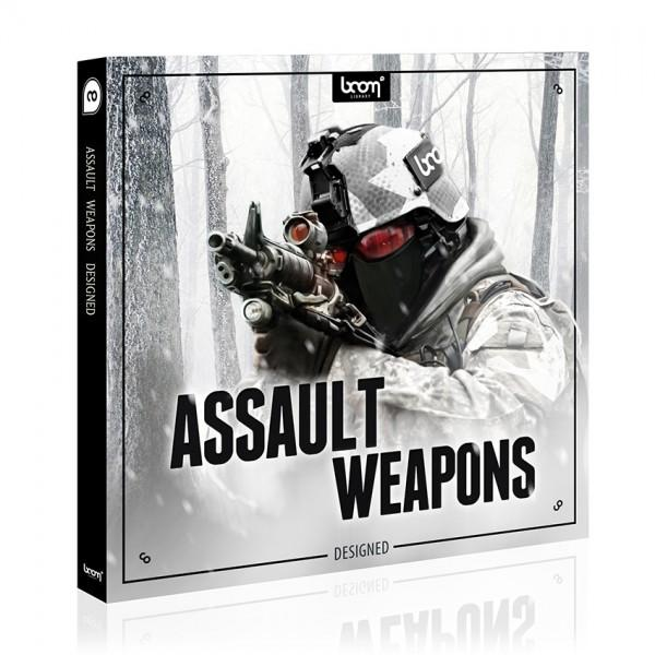 Download Boom Library Assault Weapons Designed