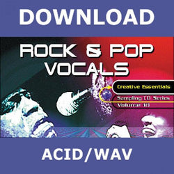 Download Zero-G C.E. Vol.18  Rock & Pop Vocals