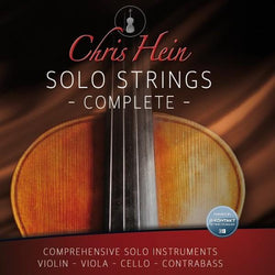 Kontakt Best Service Chris Hein Solo Strings Complete UPGRADE for Solo Violin Users