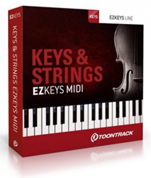 Download Toontrack EZkeys Keys & Strings MIDI Pack