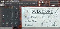 Sound Dust Dulcitone 1900