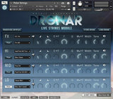 Review Gothic Instruments DRONAR Live Strings