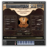 Cinesamples Viola da Gamba and Dulcimer Zither Bundle