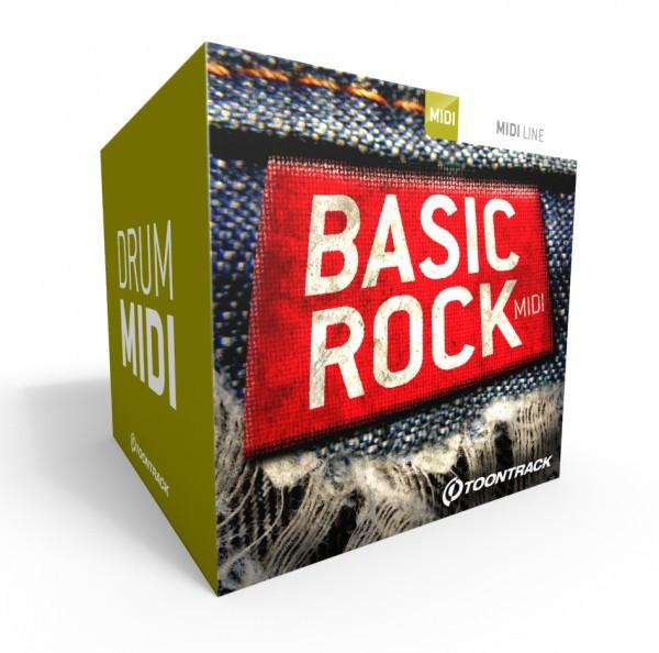 Download Toontrack Basic Rock MIDI