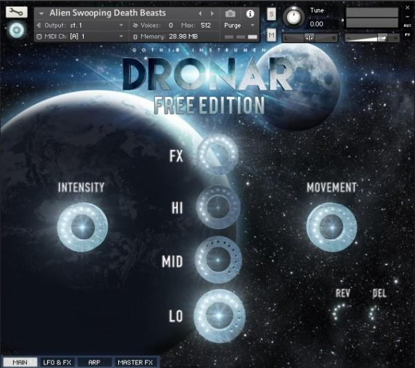 Gothic Instruments DRONAR FREE Edition