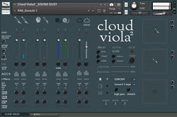 Sound Dust Cloud Viola 2