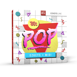 Toontrack EZkeys Eighties Pop MIDI Pack