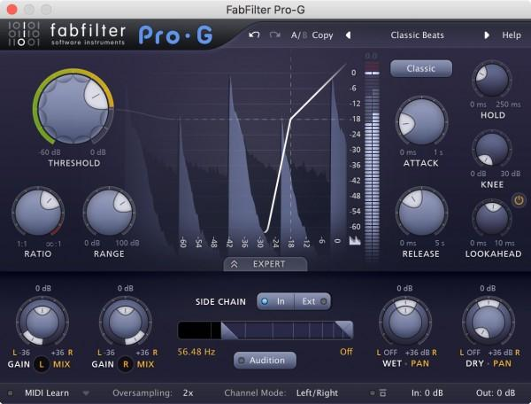 Download Demo FabFilter Pro-G