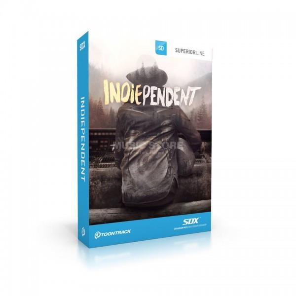 Buy Toontrack SDX: Indiependent (boxed)