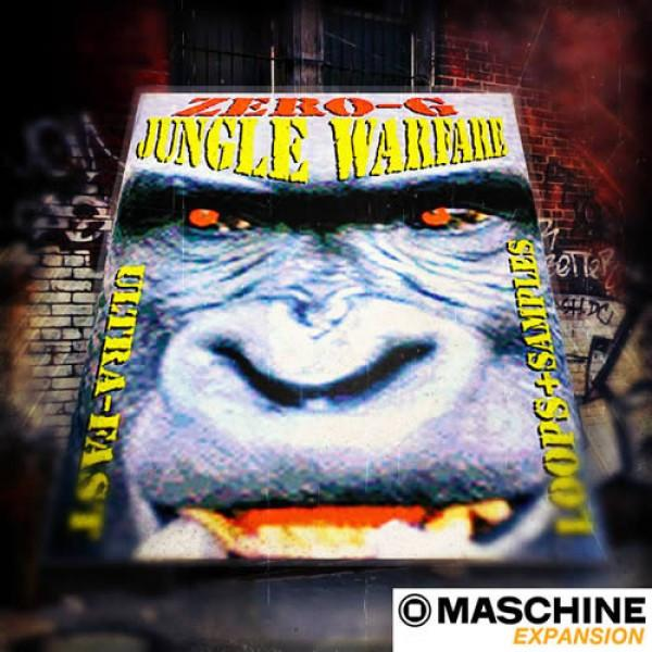 Download Zero-G Classics Jungle Warfare 1 - Maschine 2 Expansion