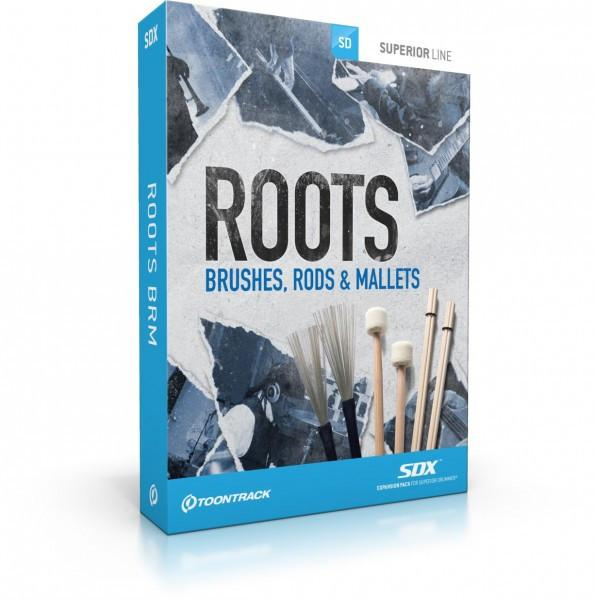 Buy Toontrack SDX: Roots, Brushes, Rods & Mallets (boxed)
