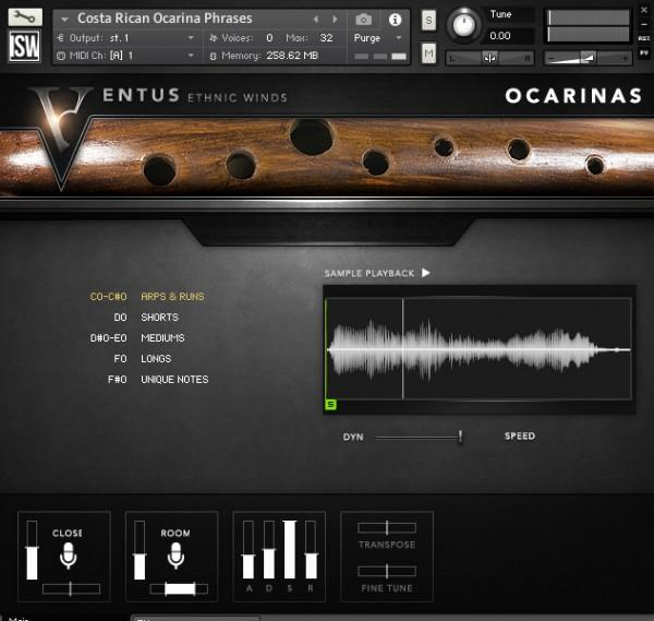 Install Impact Soundworks Ventus Ethnic Winds - Ocarinas