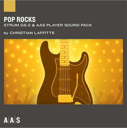 AAS Pop Rocks Sound Bank for Strum GS 2